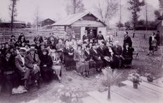 Did you know that the Provo Pioneer Village opened on October 10, 1931? This picture shows the mayor and honored guests at the opening of the village. Read this article to learn more about the history of the Pioneer Village!