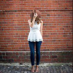 Pilcro Stet Ankle Jeans #Anthropologie #MyAnthroPhoto