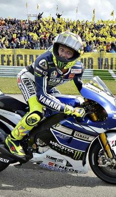 Rossi is BACK!  MotoGP 2013 @Vanessa Seward