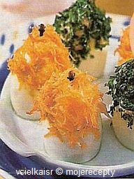 Cukroví na Vánoce: Vejce s čepičkou Caviar, Fish, Meat, Pisces