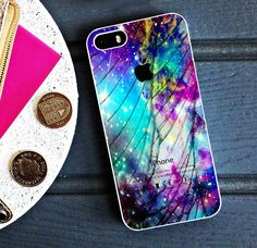 Galaxy Nebula Cracked Out Broken Glass Case for iPhone 5 5s 6 Case #UnbrandedGeneric