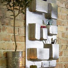 aluminum wall storage