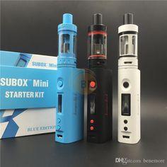 Authentic Kanger Subox Mini Starter Kit 4.5ml Kanger Subtank Mini E-cigarette Kangertech Subox Mini Kit with Kbox Mini Battery Online with $42.94/Piece on Benemore's Store | DHgate.com