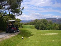 Golf course St Endréol in Provence