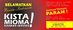 Kami produsen obat herbal kista, mioma, kanker serviks  Hubungi:  Ibu Fathonah, 085 759 111 999 (Indosat) 081 360 111 999 (Telkomsel) Sonayan RT02/RW01 Jagalan Karangnongko Klaten