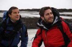 Bear Grylls and Jake Gyllenhaal, via awesomepeoplehang...