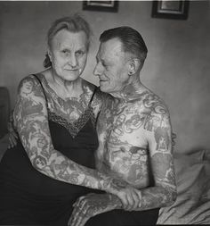 HERBERT HOFFMAN   (What my husband and I will look like when we get old) LOVE IT!