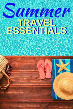 It's never too early to get ready for summer travels. Check out our tips and some fun products to keep you busy on your summer journeys. #TravelTips #SummerTravel