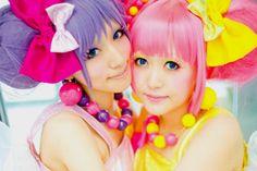 Colorful sisters. fairy kei decora harajuku japanese street fashion lolita kawaii