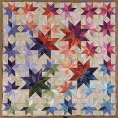 Meteor Shower, designed by Judy Martin and made by Margy Sieck, 2006. Pattern is in Judy's book, Scraps.