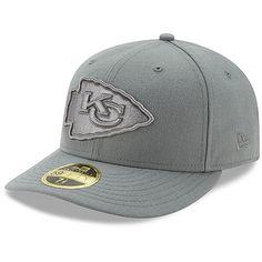 a6e996046e62a Men s Kansas City Chiefs New Era Black B-Dub 59FIFTY Fitted Hat