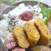 Sweetened Tamagoyaki Rolled Omelette for Bento