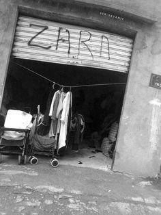 scritto sui muri garage zara