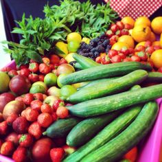 Fresh fruit and veg from our client summer party #baxterstorey #fresh #colour #fruit #vegetables #healthy