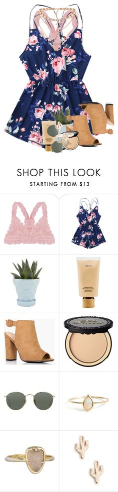 """""""{ rtd? }"""" by ellaswiftie13 on Polyvore featuring Humble Chic, Chive, tarte, Boohoo, Too Faced Cosmetics, Ray-Ban, Kendra Scott and Sole Society"""