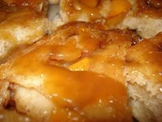 Caramel Peach Pull - A - Parts; a Mennonite recipe (1) From: Mennonite Girls Can Cook, please visit