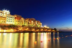 Xlendi, Gozo, Malta #citylights #holiday http://www.maltadirect.com/gozo
