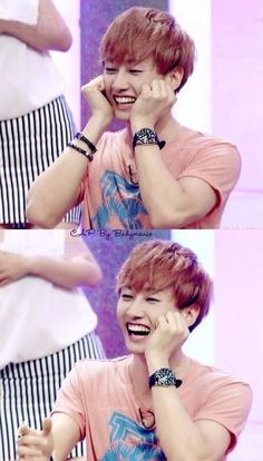 Eunhyuk. Such a perfect smile. Come visit kpopcity.net for the largest discount fashion store in the world!!