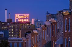 Dominos Sugar plant - Baltimore Md ..     GREAT SHOT .... never thought to do this myself  ...  :)