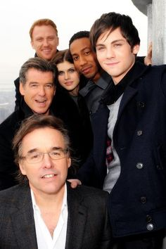 Percy Jackson!  ...is it just me, or is that Kevin McKidd from Grey's Anatomy in the back there? =O
