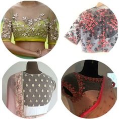 10 Best Saree Blouse Designs of 2017 - Must Have Saree Blouse designs