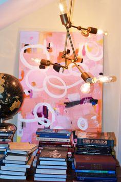 Mimosa Lane: DIY || Lindsey Adelman Chandelier