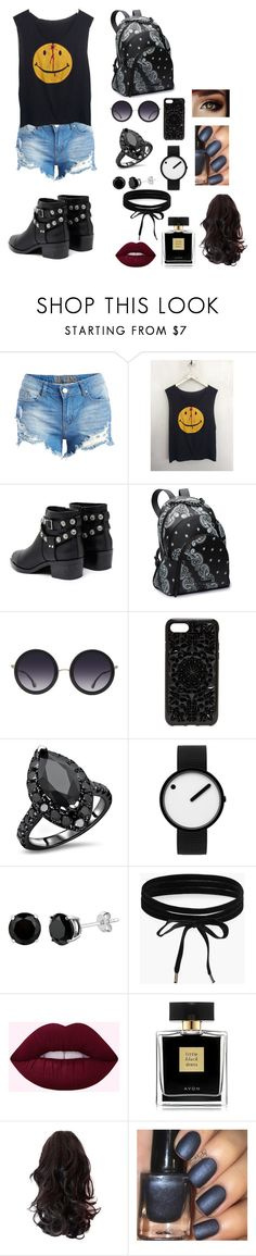 """Band life"" by magicisinyourheart ❤ liked on Polyvore featuring Senso, Alice + Olivia, Felony Case, Rosendahl, Boohoo and Avon"