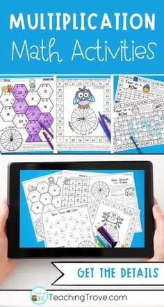 Teaching multiplication to your 3rd grade students should be fun. Use anchor charts and flip books to introduce each multiplication strategy and then hands-on games, activities, worksheets, and printables to help them remember their times tables. The multiplication activities are perfect for math centers, partner work, morning work, homeschooling, or extra activities for early finishers. #multiplication #timestables #multiplicationgames #multiplicationactivities