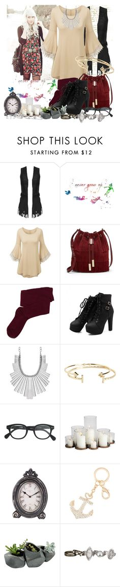 """""""You're Always Gonna Fly"""" by sweetserenade ❤ liked on Polyvore featuring Miss Selfridge, Disney, Vince Camuto, Fevrie, Lucky Brand, Aéropostale, J.Crew, Home Decorators Collection, Dot & Bo and maurices"""