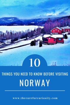 10 Things You Need to Know Before Visiting Norway