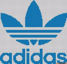 Diy Crafts - -Alpha friendship bracelet pattern 10078 added by adidas shoes logo store. Small Cross Stitch, Cross Stitch Designs, Cross Stitch Patterns, Beading Patterns, Knitting Patterns, Crochet Patterns, Friendship Bracelet Patterns, Friendship Bracelets, Modele Pixel Art