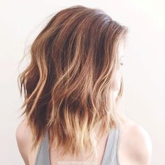 The tortoise shell #hair color trend for #2015. Who will be rocking this look?