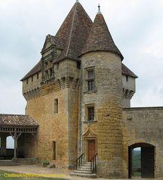 The Château de Biron, Biron, Dordogne, France - www.castlesandmanorhouses.com