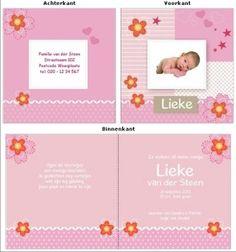 geboortekaartjes zelf maken - Google zoeken