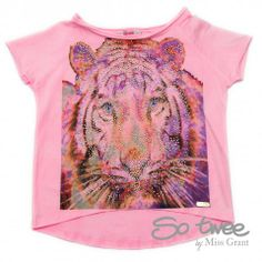 SO TWEE by #missgrant T-SHIRT WITH TIGER PRINT. Sale 50% off Spring&Summer Collection! #discount