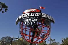 PUMA and the ESPN Wide World of Sports complex have entered into a multi-year agreement with PUMA becoming the official soccer equipment sponsor of Disney Soccer. Description from mikeandthemouse.com. I searched for this on bing.com/images