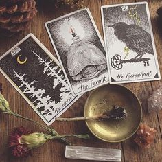 {Open with Max} I sat in a rarely used hallway, leaning against the wall as i shuffle my tarot cards. I had various gems and flowers around me, and i set three cards down. I mutter something, then pick the cards up. You...