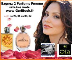 JEU CONCOURS 2 Parfums Femme à gagner sur le blog beauté geribook http://www.geribook.fr/2014/01/28/jeu-concours-2-parfums-femme-a-gagner-sur-le-blog-beaute-geribook/