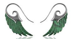 Noor Fares Malachite Earrings