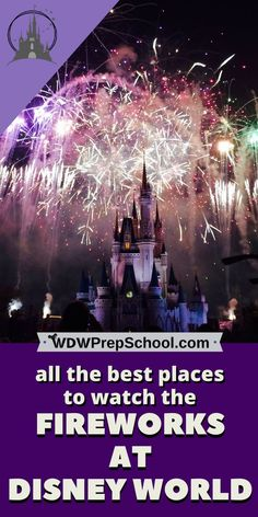 Not all fireworks viewing spots are created equal | Where to go to get the best view at the nighttime shows at Disney World | Happily Ever After | Illuminations | Star Wars: A Galactic Spectacular | Rivers of Light | Fantasmic! | #disneyparks #disneytips