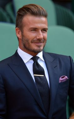 La barbe de David Beckham