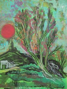 "Saatchi Art Artist Roberto Corso; Painting, ""Deep Forest"" #art"