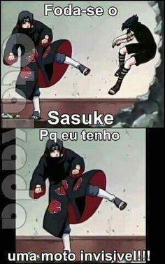 Viro a mulher maravilha agr com os Naruto Shippuden Sasuke, Naruto Sasuke Sakura, Itachi Uchiha, Anime Naruto, Anime Meme, Otaku Meme, Sasunaru, Naruto Funny, Naruto Meme
