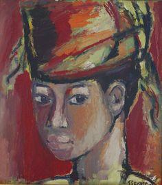 'Boy from Senegal' - Gerard Sekoto (1913-1993)