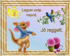 Winnie The Pooh, Good Morning, Disney Characters, Fictional Characters, Facebook, Jute, Buen Dia, Winnie The Pooh Ears, Bonjour