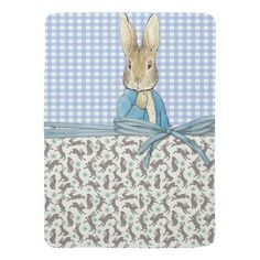 Inspired by P. Rabbit/Friends BABY BLANKET