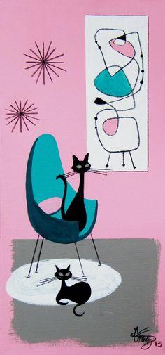 ATOMIC Crazy  . . .    The Art Of El Gato Gomez