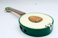 The Avocado Ukulele Will Put a Song in a Food Lover's Heart #food #art