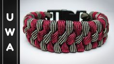 How to make The Modified Trilobite Paracord Bracelet With Buckle [UWA ORIGINAL] [Tutorial] - YouTube