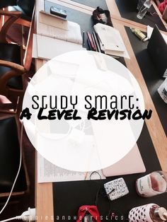 Study Smart: A Level Revision A guide to teach you how to create and make your own revision timetable, neat and organised notes and how to stay on top of your assignments. As well as self-care and general tips on being a student. Student ჻ studying ჻ notes ჻ high school ჻ sixth form ჻ college ჻ grades ჻ revision ჻ revise ჻ tips ჻ experience ჻ STEM ჻ math / maths ჻ physics ჻ computer science